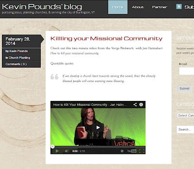 Kevin Pounds Blog